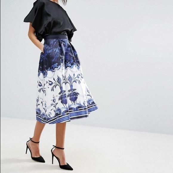 03d47c8ec5 Ted Baker London Skirts | Ted Baker Hunah Full Skirt | Poshmark